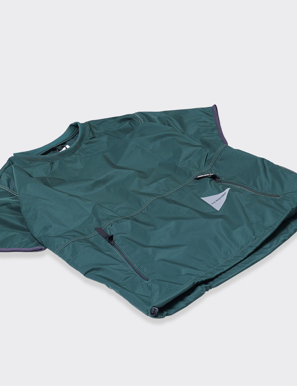 and wander : PERTEX WIND T (GREEN)