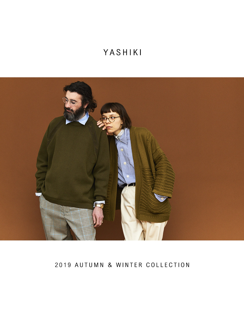 YASHIKI 2019 FALL/WINTER