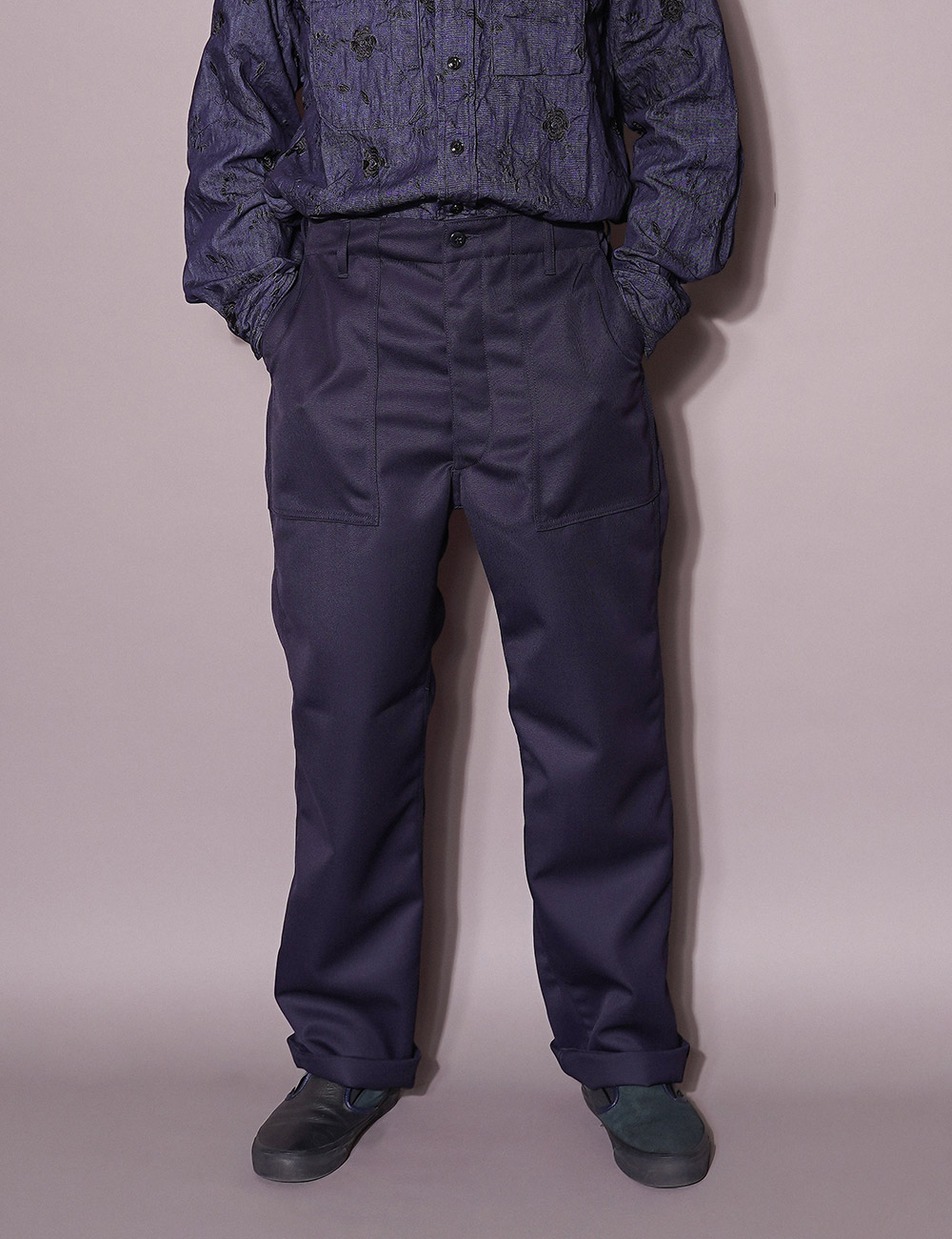 EG WORKDAY : FATIGUE PANTS (DK.NAVY)