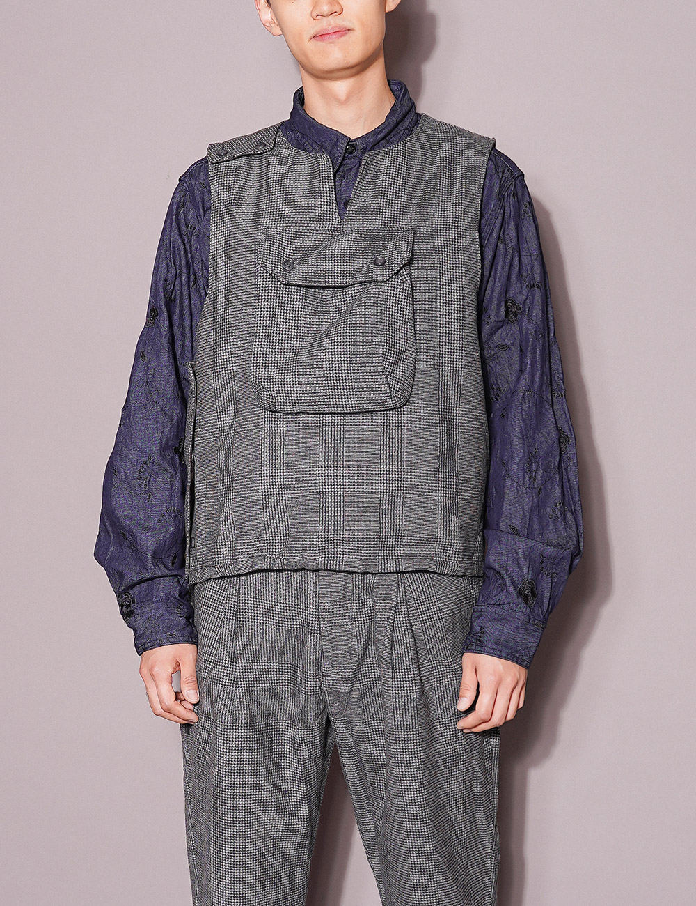 Engineered Garments : COVER VEST (GREY)