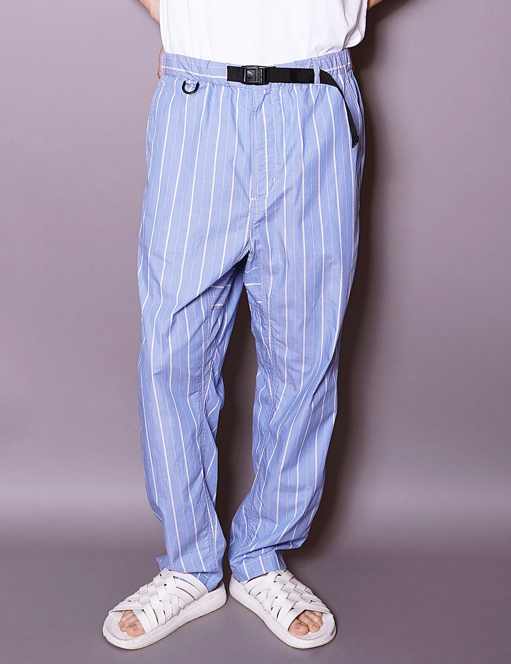 AiE : EZ PANTS (BLUE/WHITE)