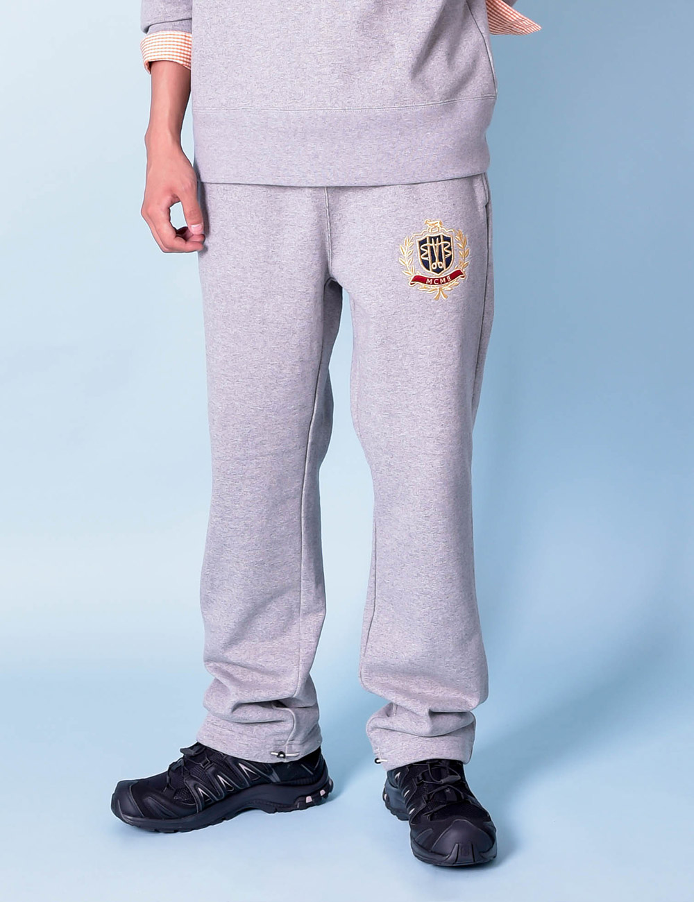 DIGAWEL x J.PRESS : SLOANE RANGER PANT (GRAY)