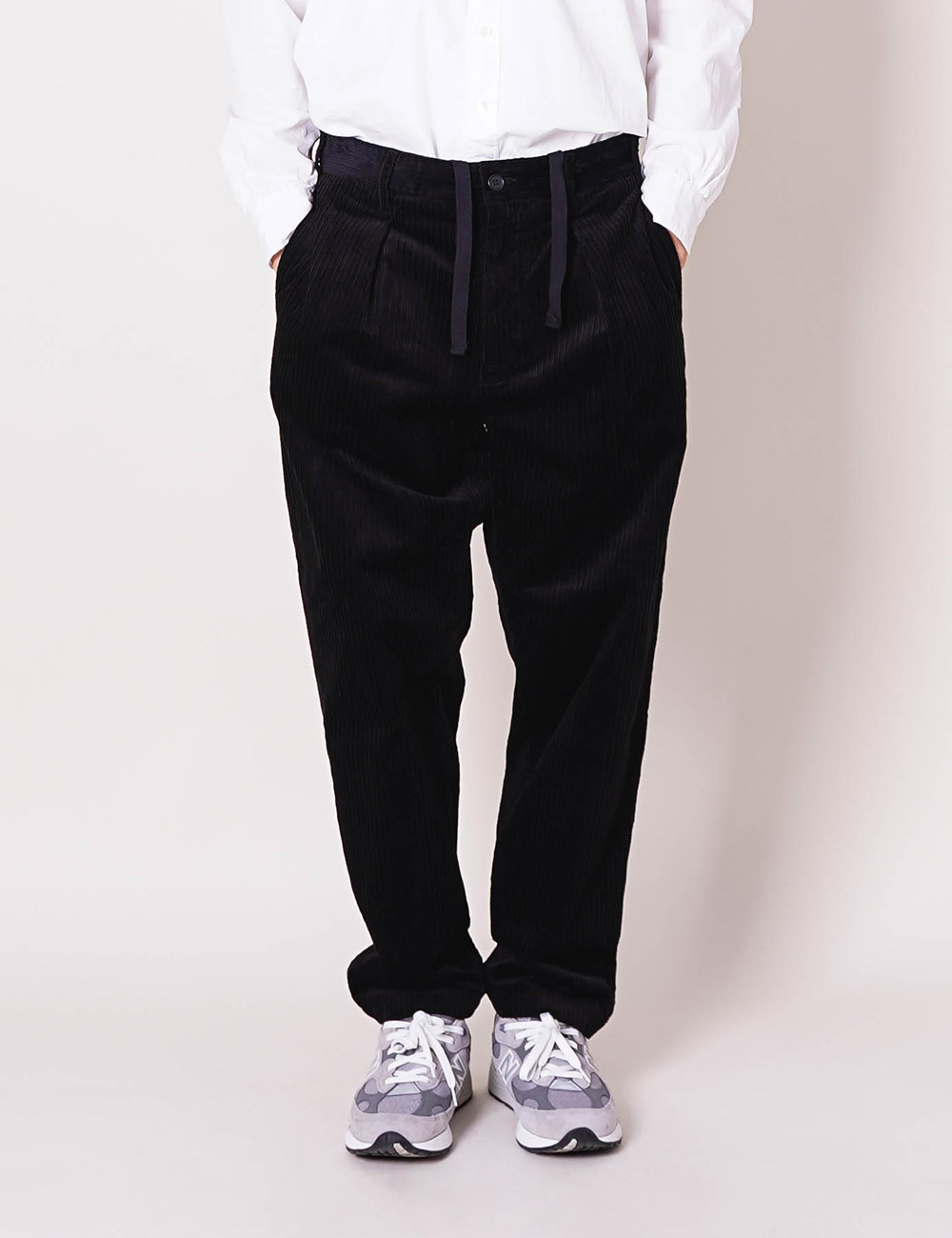 Engineered Garments : CARLYLE PANT (BLACK)