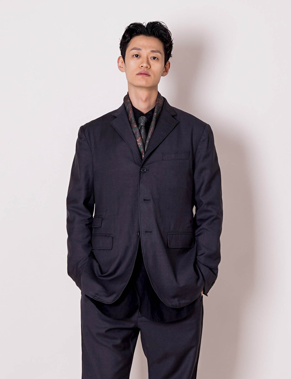 Engineered Garments : LAWRENCE JACKET (GREY)