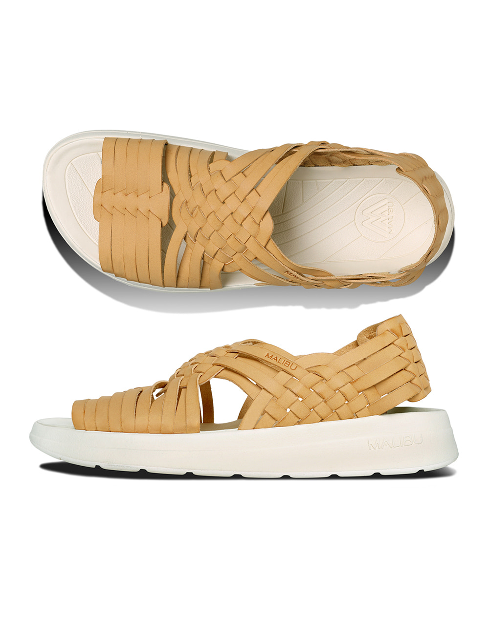 MALIBU : CANYON VEGAN LEATHER (BEIGE/PAPYRUS)