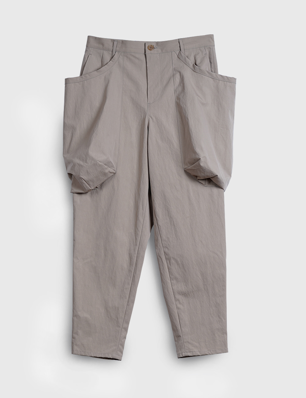 POCKET PANTS (BEIGE)