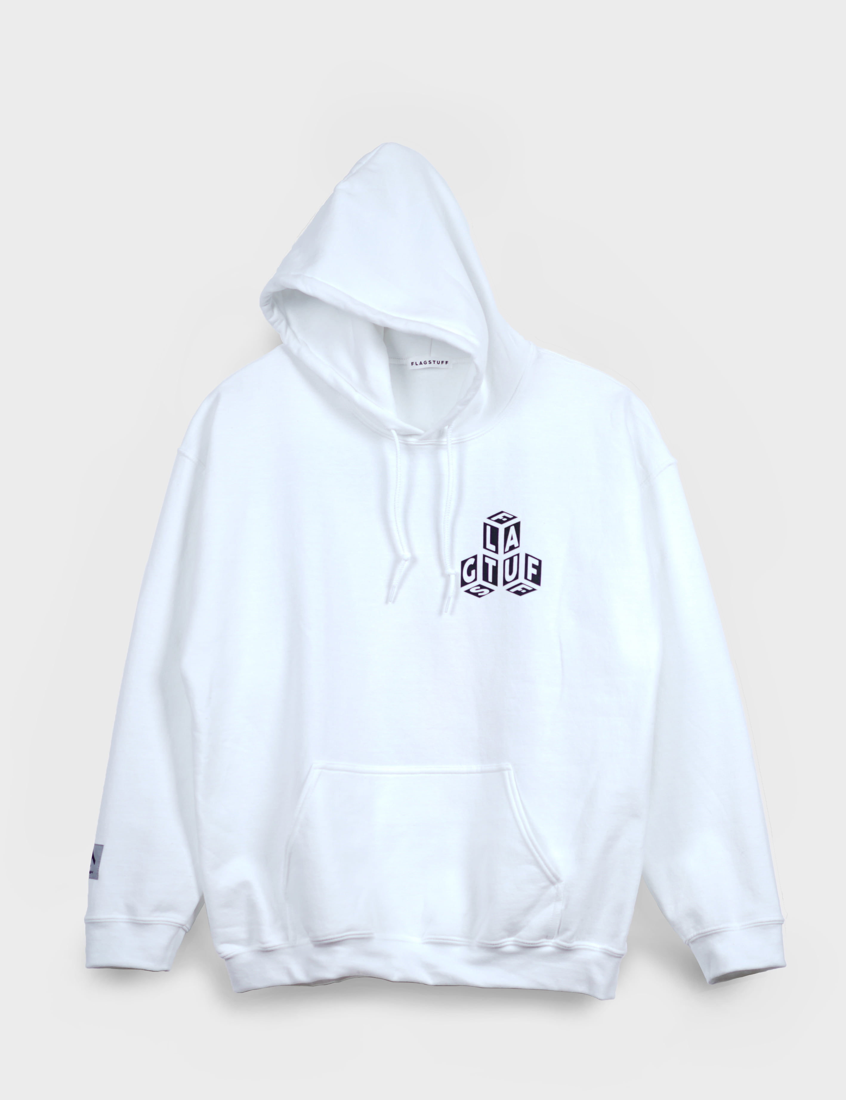 """Dice"" HOODIE (WHITE)"