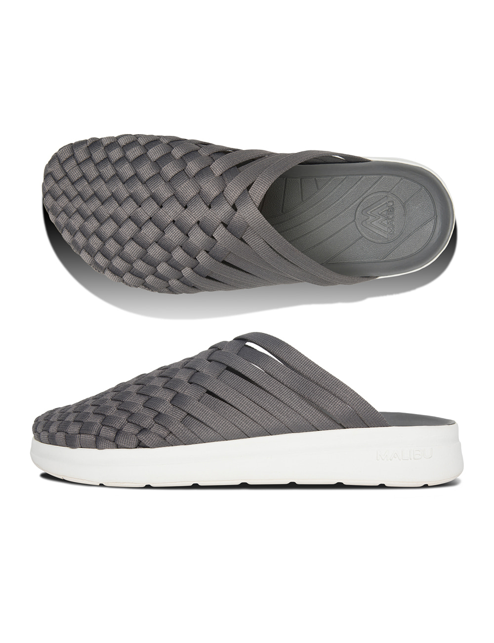 COLONY NYLON (CHARCOAL/WHITE)