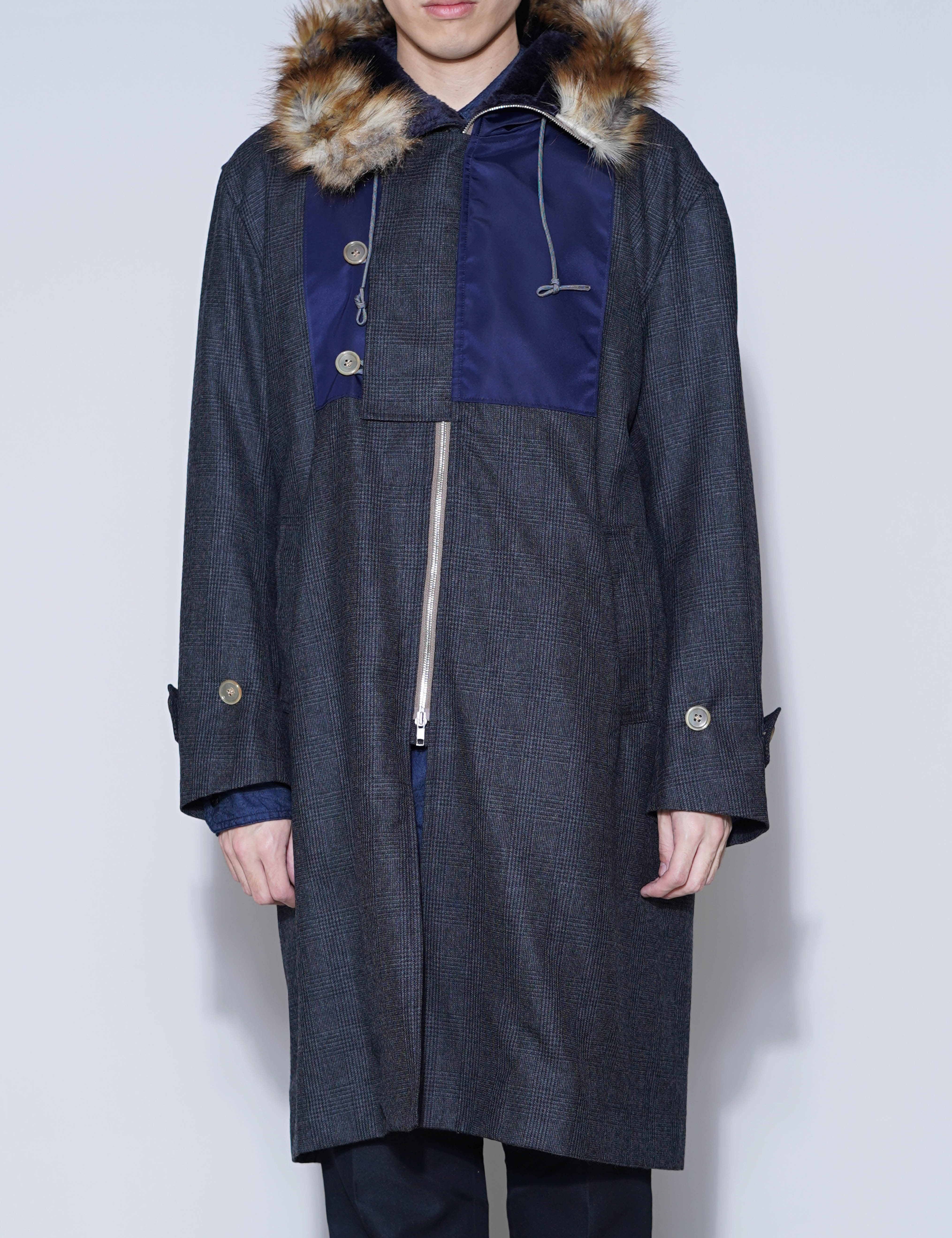 MIX COAT ① (GRAY CHECK)