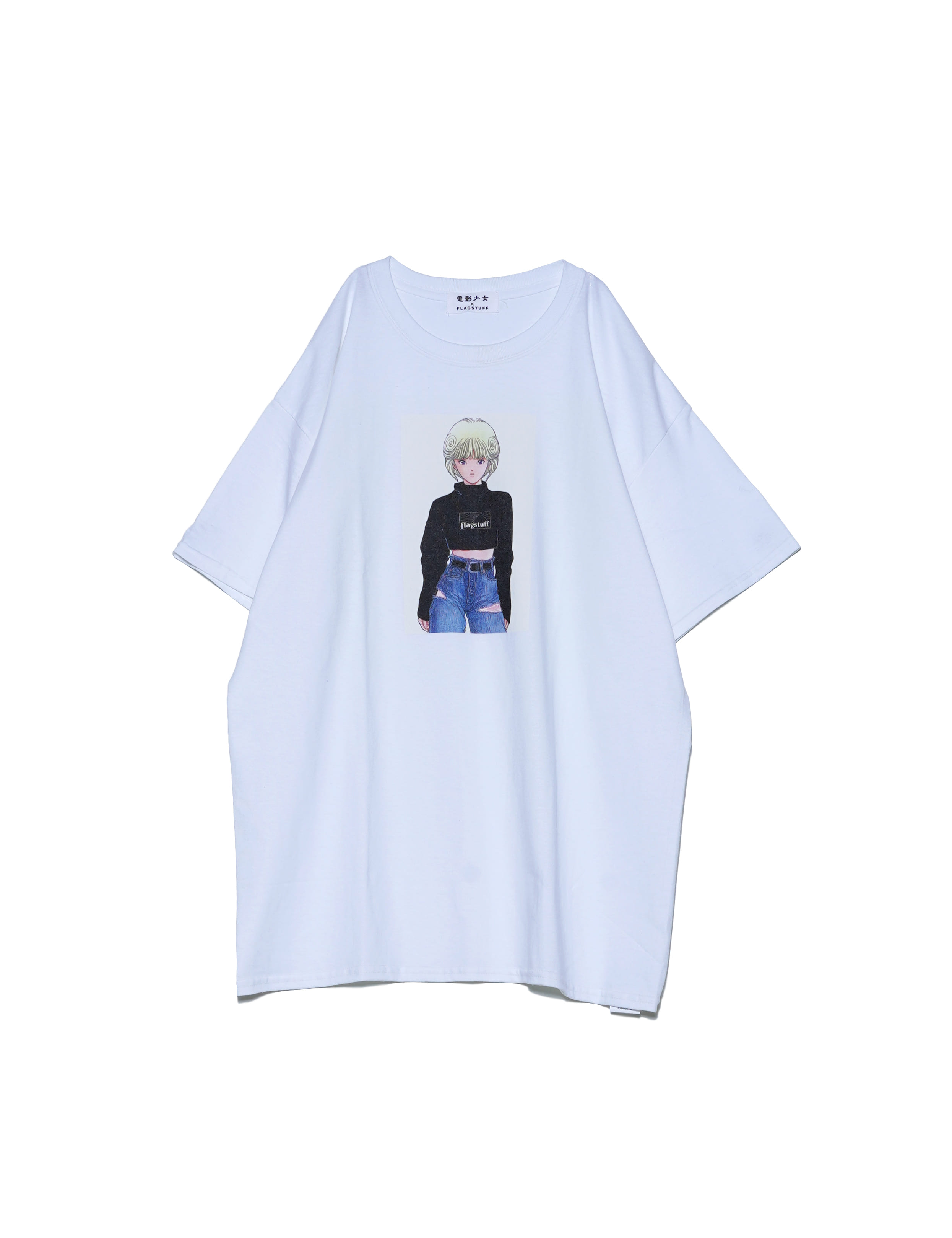 VIDEO GIRL TEE 2 (WHITE)