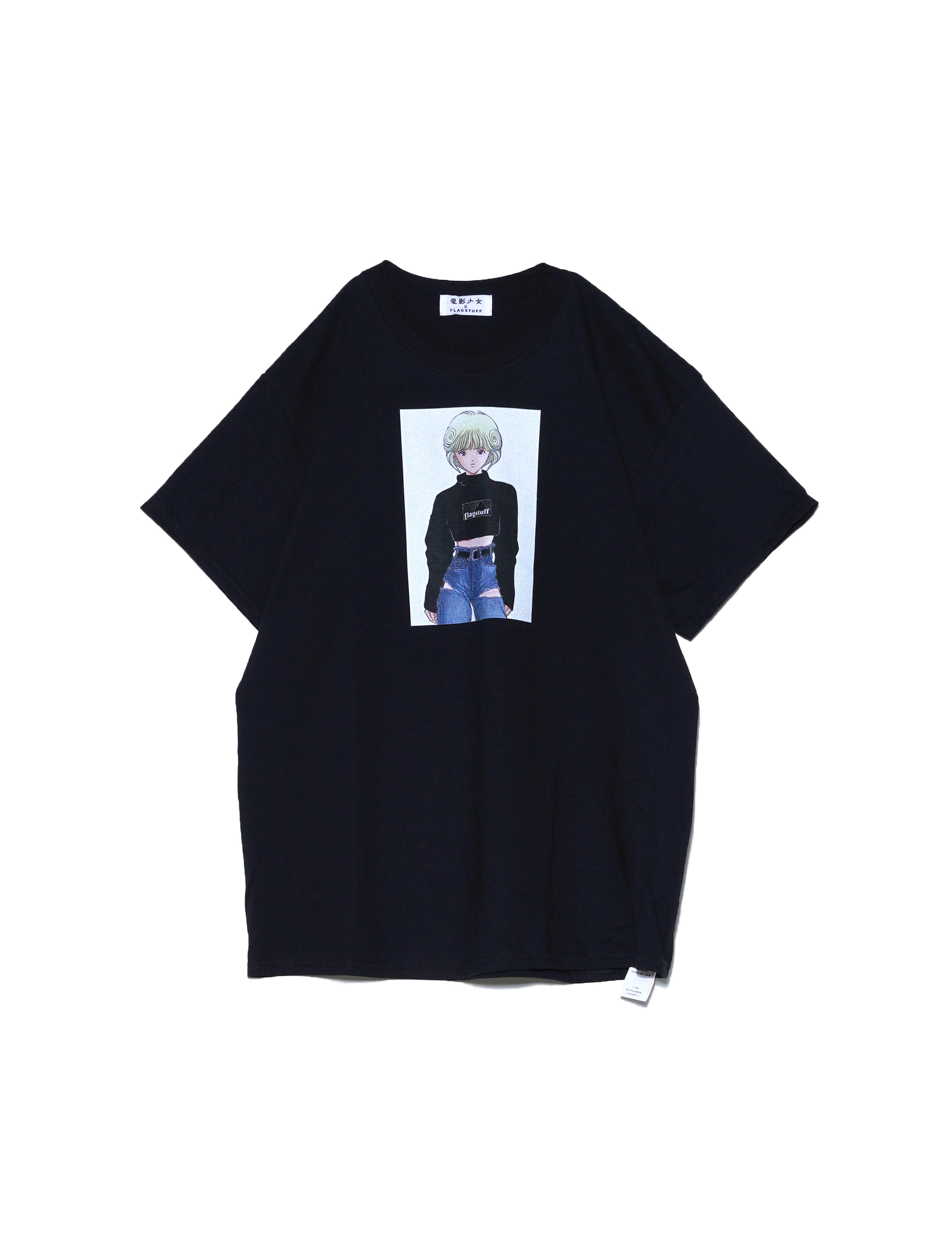 VIDEO GIRL TEE 2 (BLACK)