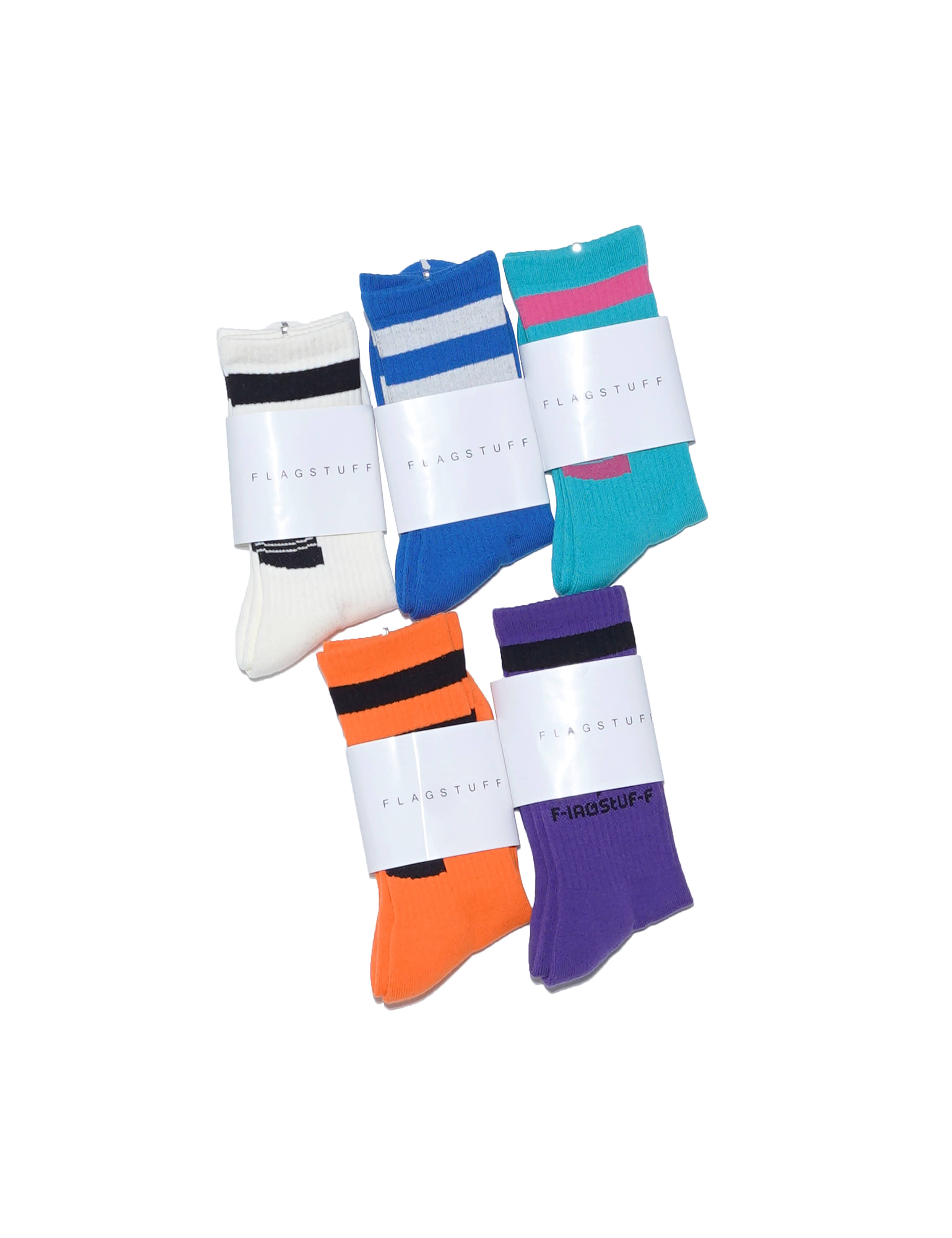 """PS LOGO"" SOX (5 COLORS)"