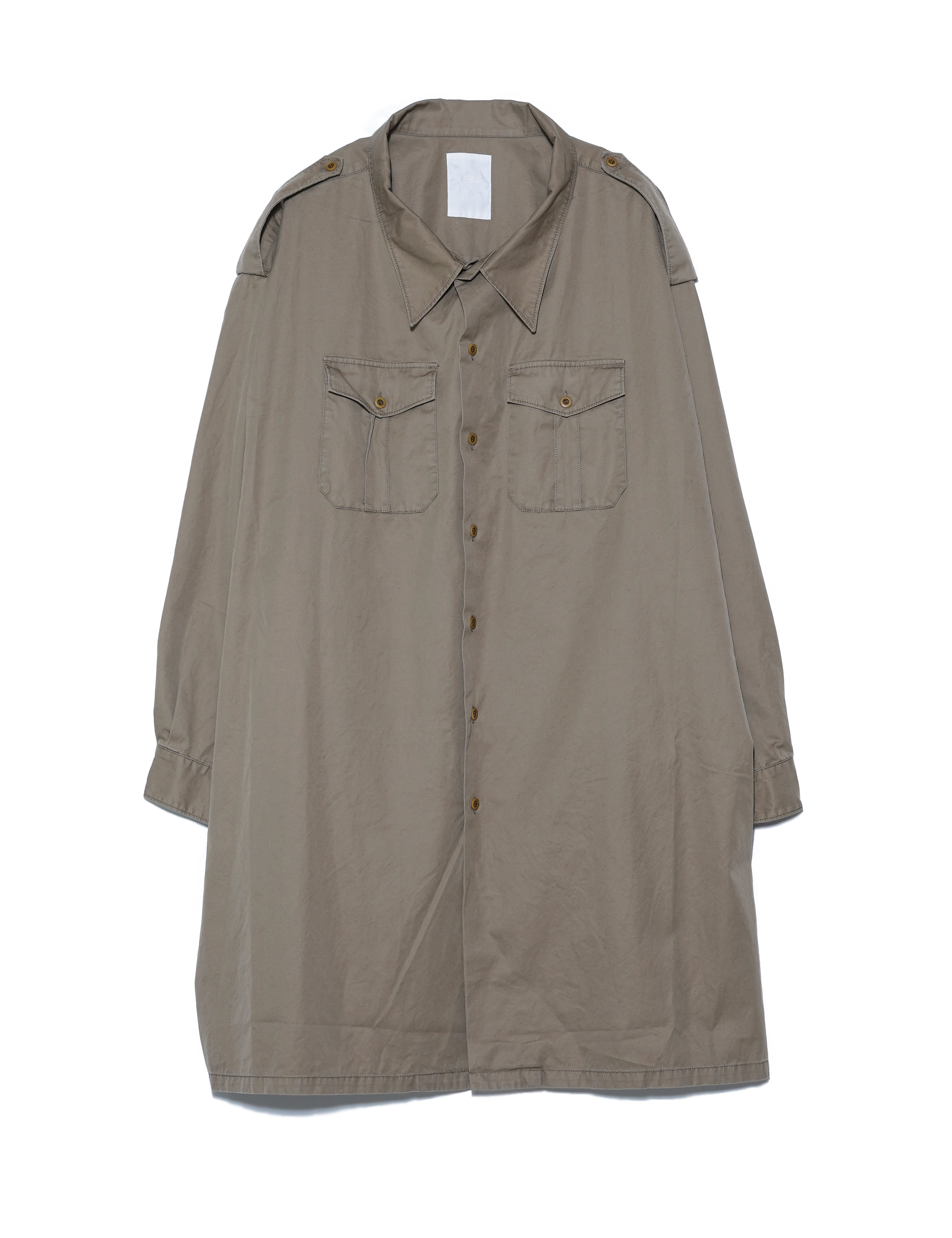 5X SHIRT/ TYPE.2 LONG (KHAKI)