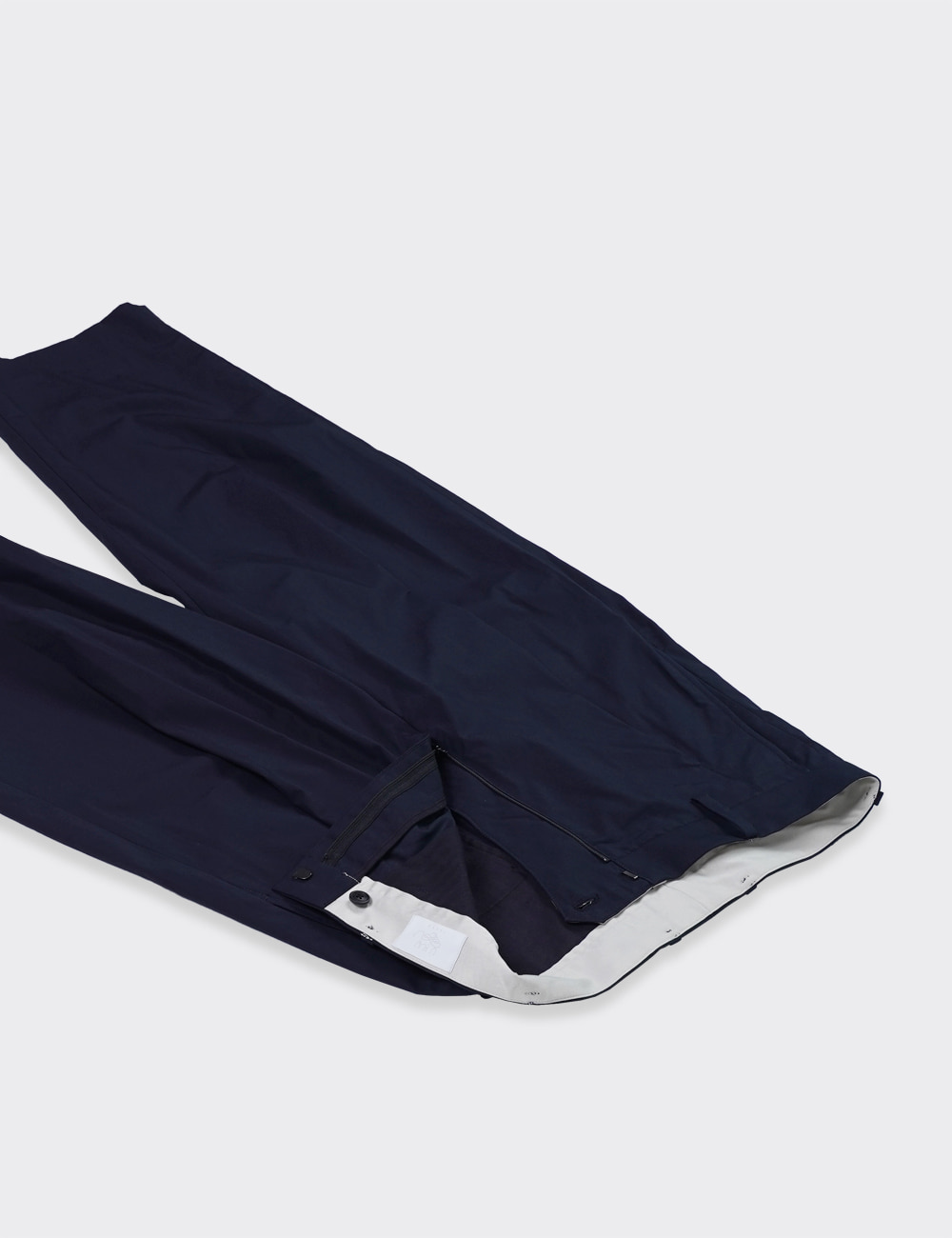 URU : 1TUCK PANTS / TYPE B (NAVY)