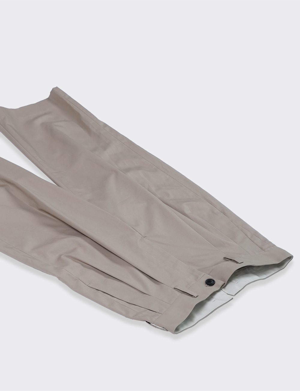 URU : 2TUCK PANTS (C.GOLD)