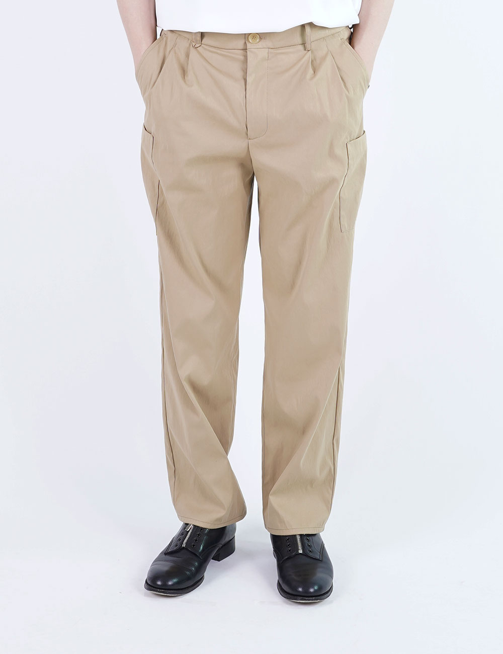 momPROUDyou : 6 POCKET PANTS (KHAKI)