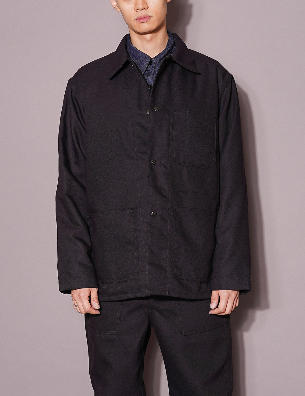 Engineered Garments WORKDAY : UTILITY JACKET (BLACK)