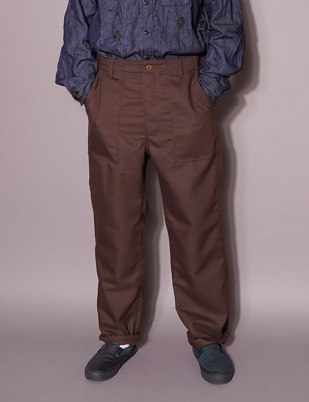 Engineered Garments WORKDAY : FATIGUE PANTS (BROWN)