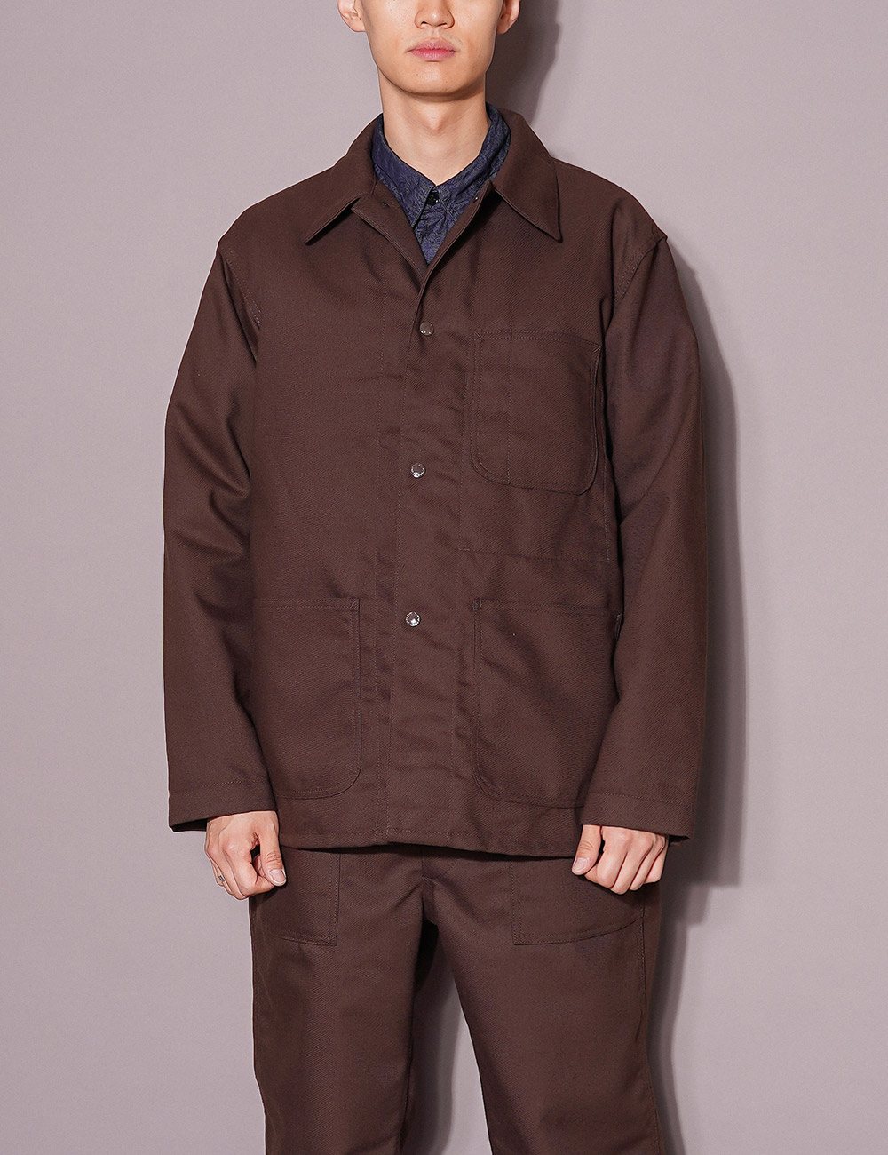 Engineered Garments WORKDAY : UTILITY JACKET (BROWN)