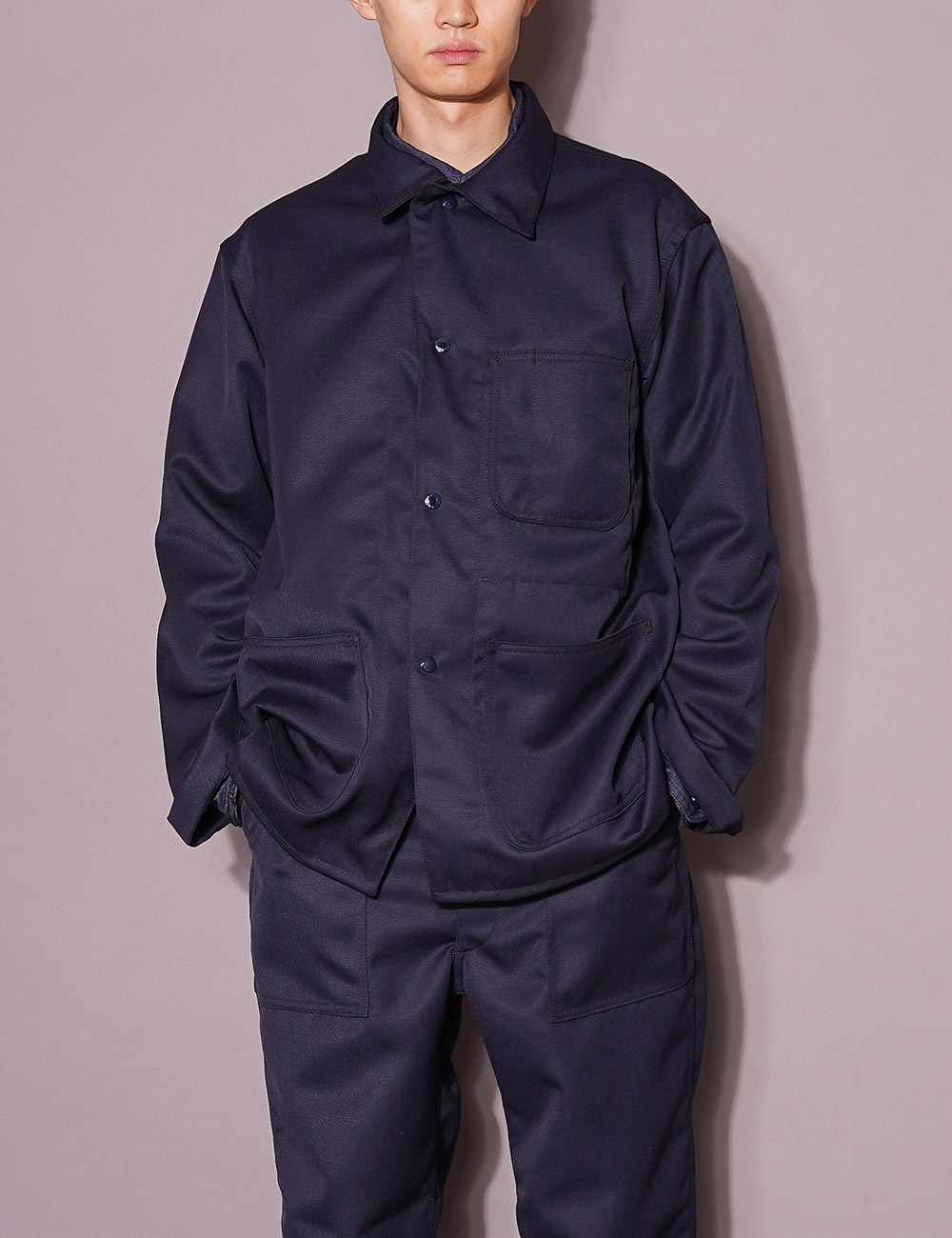 Engineered Garments WORKDAY : UTILITY JACKET (DK.NAVY)