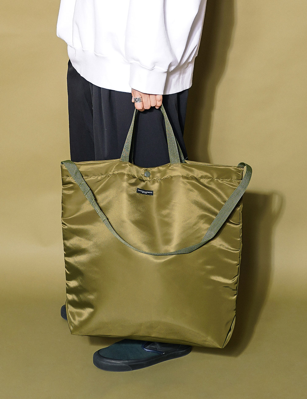 Engineered Garments : CARRY ALL TOTE (OLIVE)