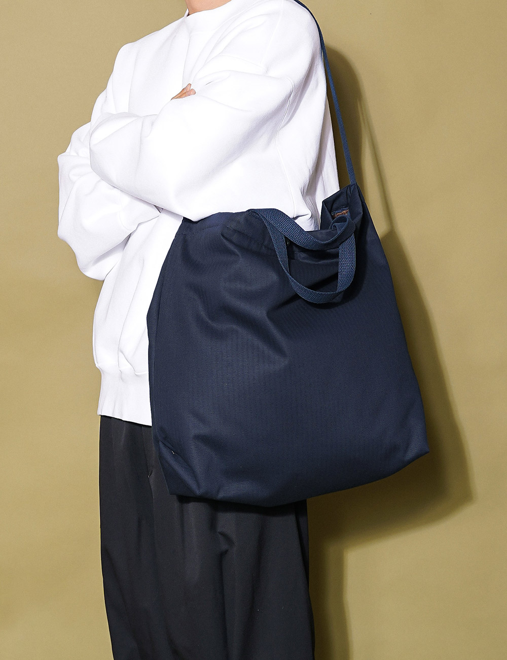Engineered Garments : CARRY ALL TOTE (NAVY)