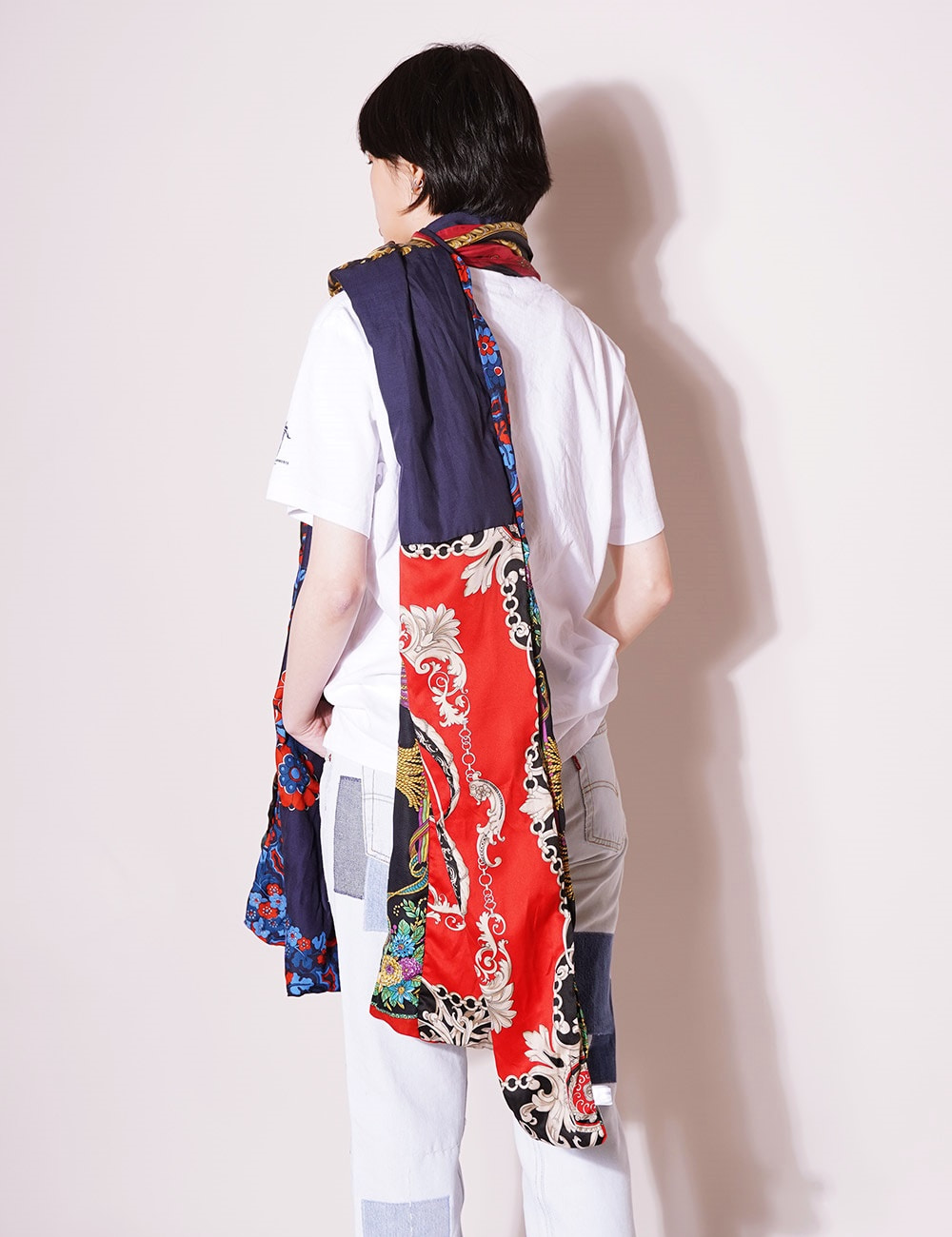 ATELIER & REPAIRS : LONG LINED SCARF - B Type