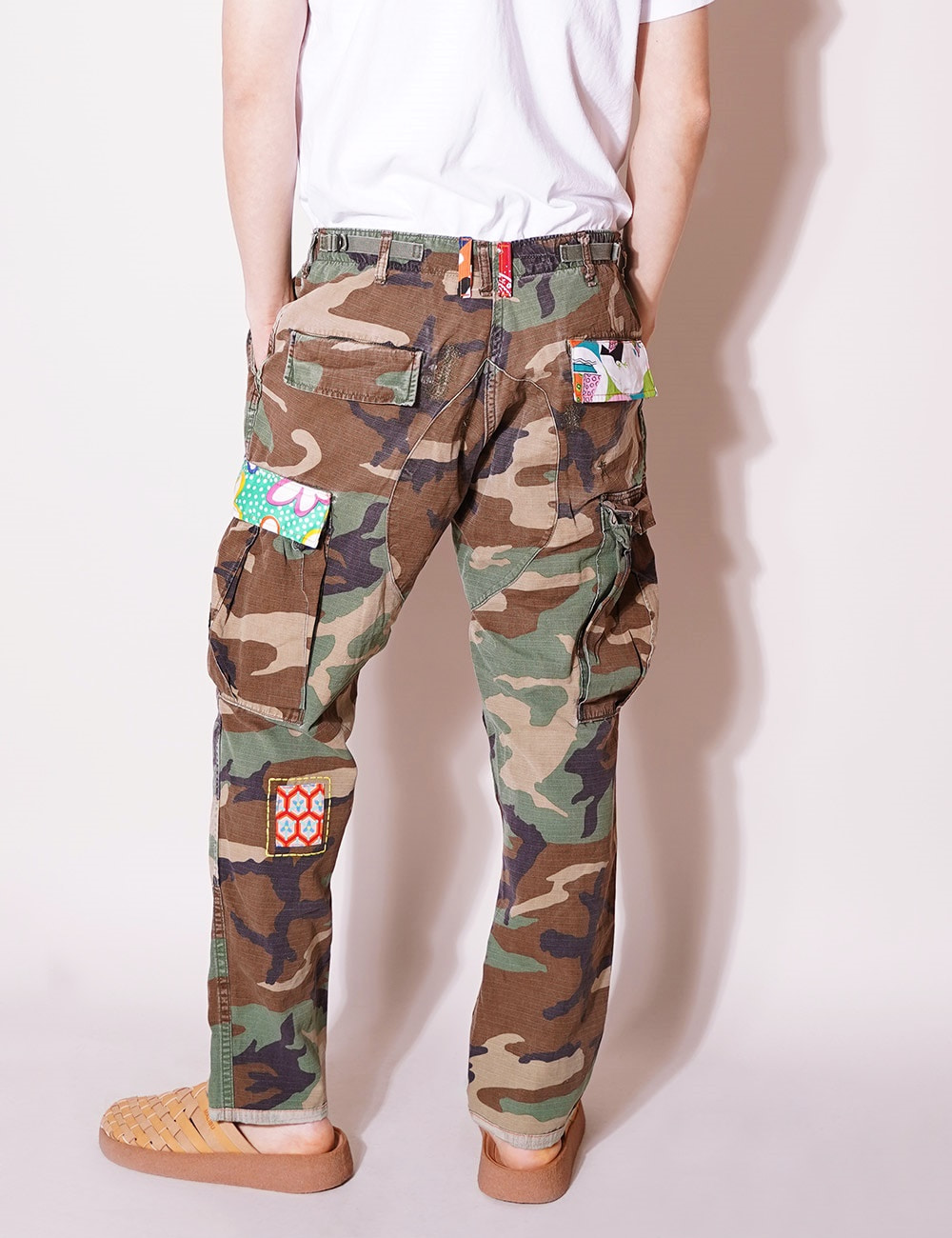 ATELIER & REPAIRS : CAMO CARGO PANT ON LSD (SIZE 34)  - A Type
