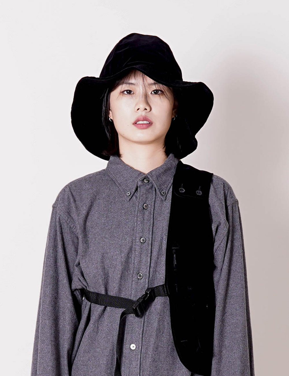 Engineered Garments : DOME HAT (BLACK)