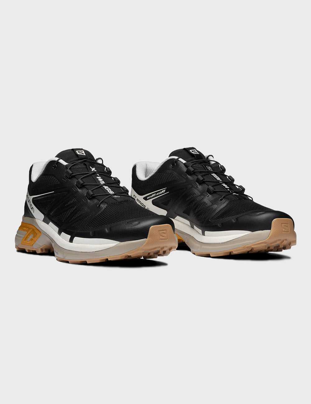 salomon : XT WINGS (BLACK/VINTAGE KHAKI)