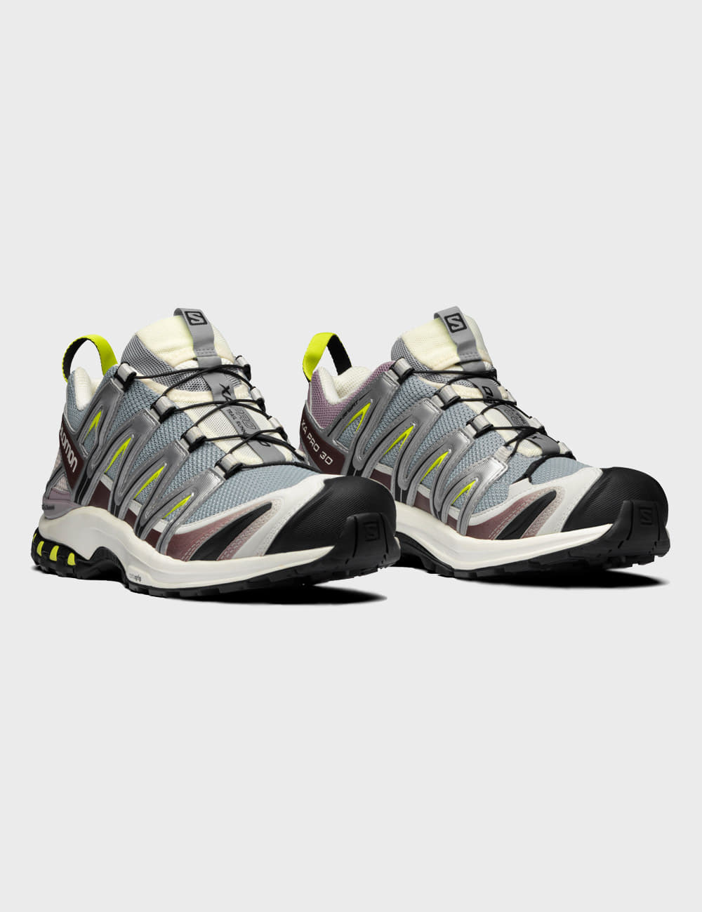 salomon : XA PRO 3D ADV (QUARRY/VANILLA/LIMEPUNCH)