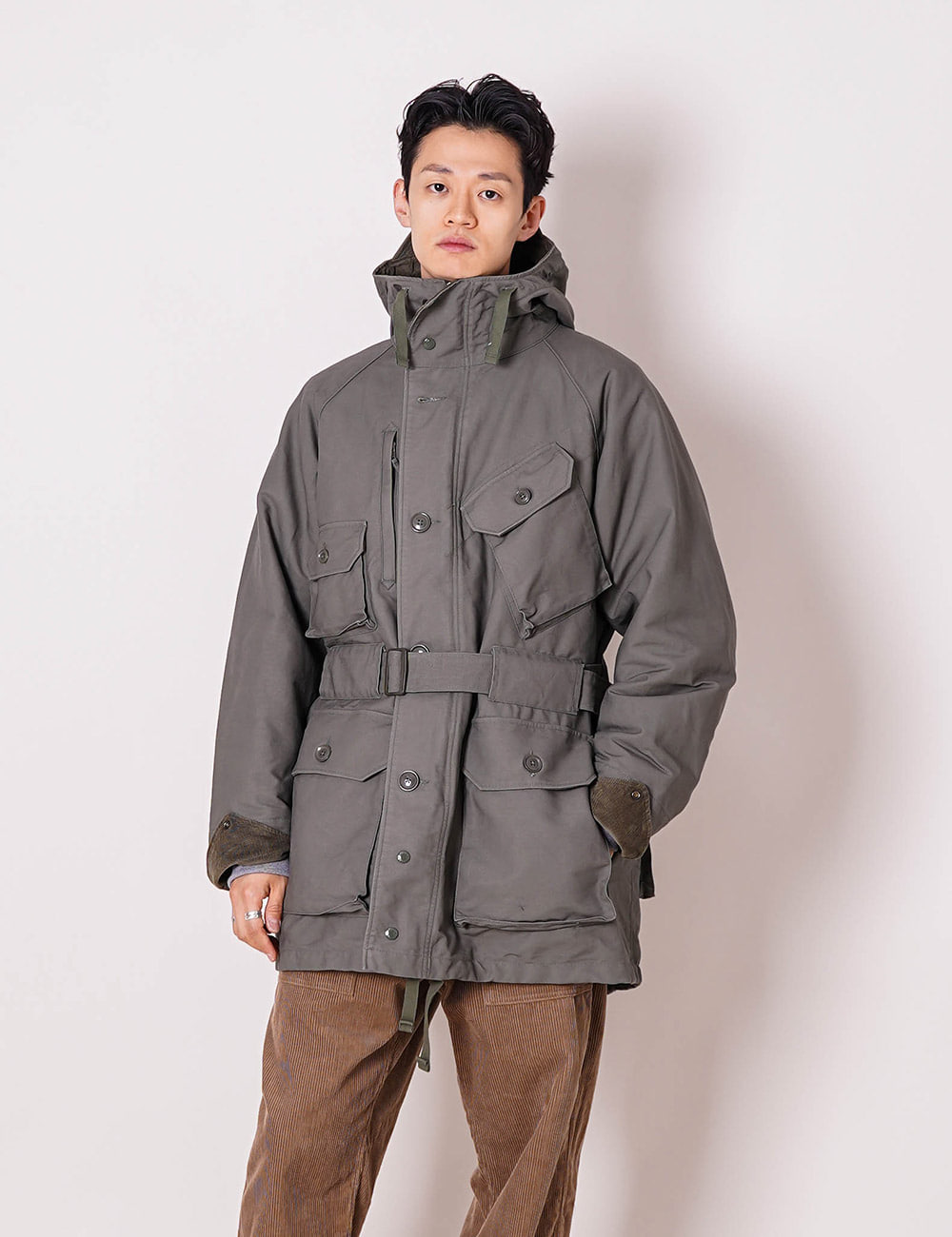 Engineered Garments : FIELD PARKA (OLIVE)