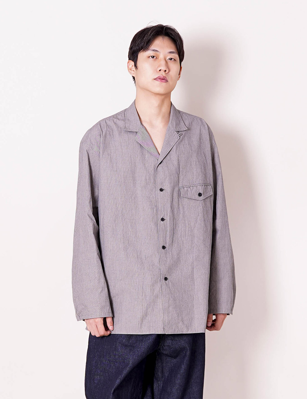 ESSAY : SH-03 FIELD SHIRTS (HOUNDS TOOTH)