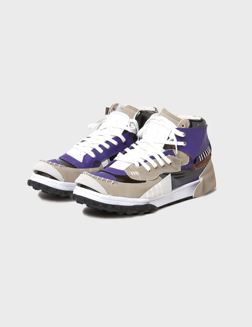 kolor : 21SCM-A02502 SNEAKERS (GREY X PURPLE)