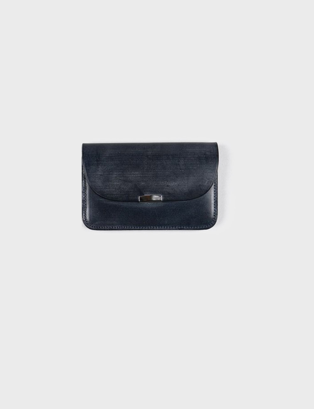 DIGAWEL : GARSON PURSE BRIDLE LEATHER (NAVY)
