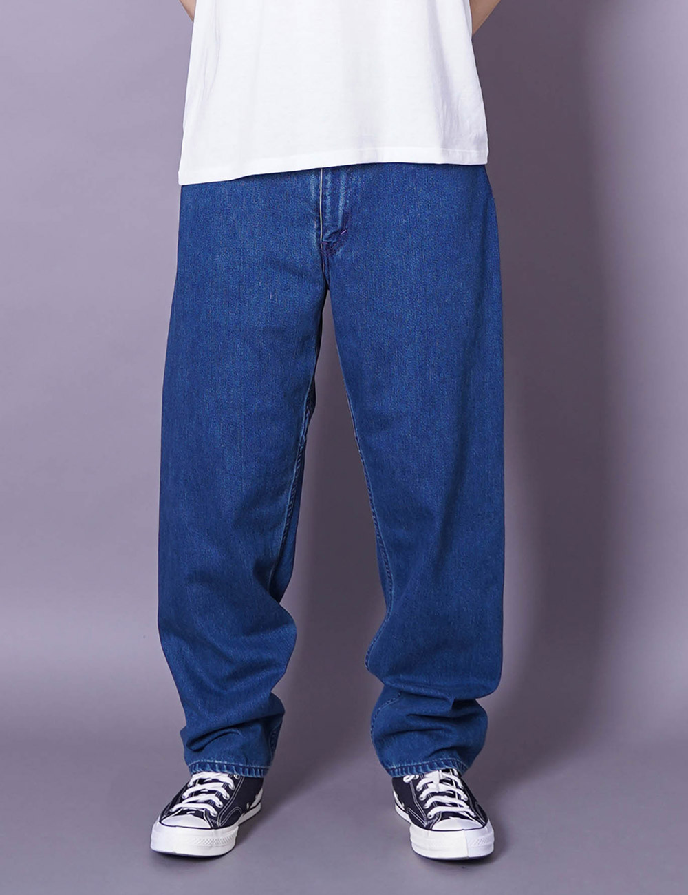 nanamica : 5 POCKET PANTS (INDIGO BLEACH)