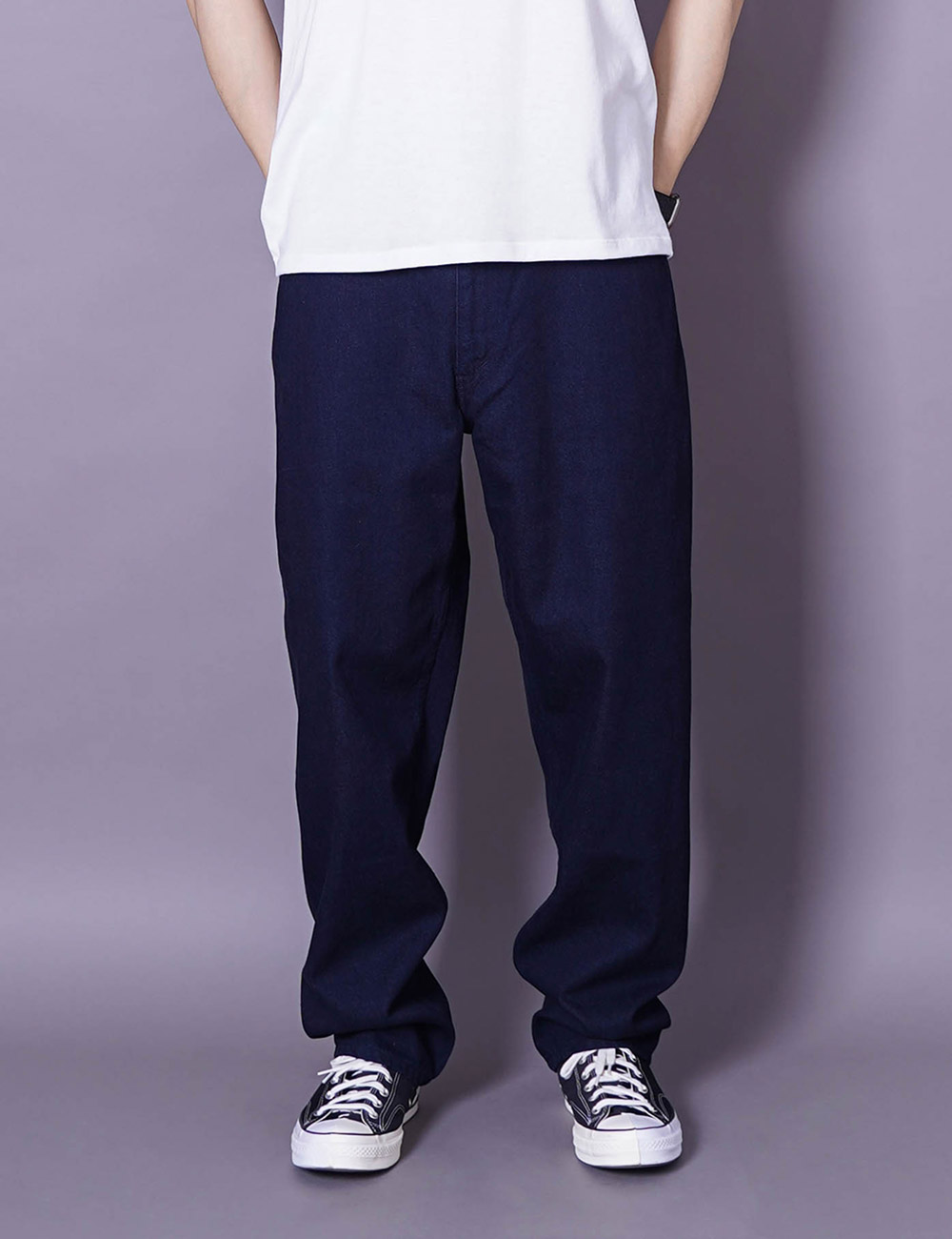 nanamica : 5 POCKET PANTS (INDIGO)